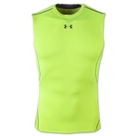 Under Armour Heatgear Compression Sleeveless T-Shirt (Neon Yellow)