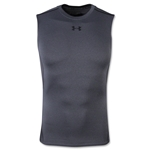 Under Armour Heatgear Compression Sleeveless T-Shirt (Gray)