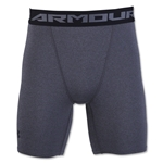 Under Armour Heatgear Compression Short (Dk Grey)