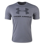 Under Armour Charged Cotton Sportsyle Logo T-Shirt (Gray)