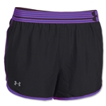 Under Armour Perfect Pace Short (Blk/Pur)