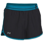 Under Armour Women's Perfect Pace Short (Bk/Tl)