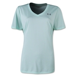 Under Armour Twisted Tech V-Neck Women's T-Shirt (Aqua)