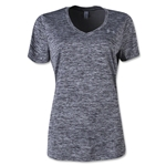 Under Armour Twisted Tech V-Neck Women's T-Shirt (Black)