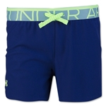Under Armour Girls Play Up Short (Navy)