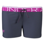 Under Armour Girls Play Up Short (Gray)