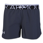 Under Armour Girls Play Up Short (Sv/Wh)