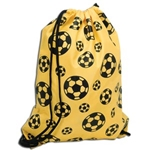 Soccer Ball Sack Pack (Yellow)