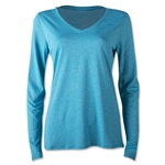 Nike V-Neck Legend Long Sleeve T-Shirt 2.0 (Teal)