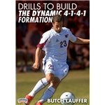 Championship Productions Drills to Build the Dynamic 4-1-4-1 Formation DVD