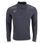 Nike Team Club 1/2 Zip Fleece (Dk Gray)