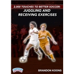 2000 Touches for Better Soccer Juggling and Receiving