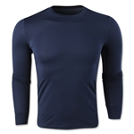 Team Compression Long Sleeve Base Layer (Navy)