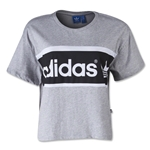 adidas Originals Women's City T-Shirt (Sv/Bk)