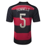 Germany 14/15 HUMMELS Away Soccer Jersey (4 Stars)