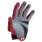 Under Armour Player II Women's Lacrosse Gloves (Red)