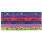 adidas Women's Sidespin Graphic Hairband 6 Pack (Purple)