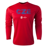 Czech Republic Euro 2016 Elements Long Sleeve Training Top (Red)