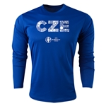 Czech Republic Euro 2016 Elements Long Sleeve Training Top (Royal)