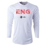 England Euro 2016 Elements Long Sleeve Training Top (White)