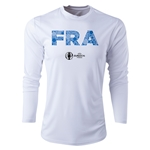 France Euro 2016 Elements Long Sleeve Training Top (White)