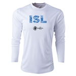 Iceland Euro 2016 Elements Long Sleeve Training Top (White)