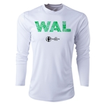 Wales Euro 2016 Elements Long Sleeve Training Top (White)