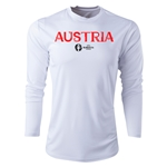 Austria Euro 2016 Core Long Sleeve Training Top (White)
