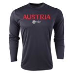 Austria Euro 2016 Core Long Sleeve Training Top (Black)