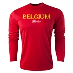 Belgium Euro 2016 Core Long Sleeve Training Top (Red)