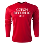 Czech Republic Euro 2016 Core Long Sleeve Training Top (Red)