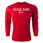 England Euro 2016 Core Long Sleeve Training Top (Red)