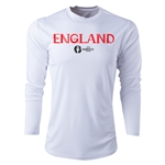 England Euro 2016 Core Long Sleeve Training Top (White)