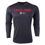England Euro 2016 Core Long Sleeve Training Top (Black)
