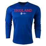 England Euro 2016 Core Long Sleeve Training Top (Royal)