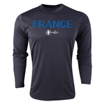 France Euro 2016 Core Long Sleeve Training Top (Black)