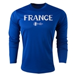 France Euro 2016 Core Long Sleeve Training Top (Royal)