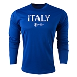 Italy Euro 2016 Core Long Sleeve Training Top (Royal)