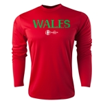 Wales Euro 2016 Core Long Sleeve Training Top (Red)