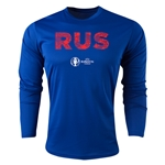 Russia Euro 2016 Elements Long Sleeve Training Top (Royal)