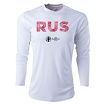 Russia Euro 2016 Elements Long Sleeve Training Top (White)