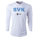 Slovakia Euro 2016 Elements Long Sleeve Training Top (White)