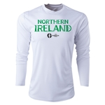 Northern Ireland Euro 2016 Core Long Sleeve Training Top (White)