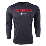 Romania Euro 2016 Core Long Sleeve Training Top (Black)