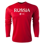 Russia Euro 2016 Core Long Sleeve Training Top (Red)