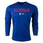 Russia Euro 2016 Core Long Sleeve Training Top (Royal)