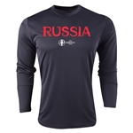 Russia Euro 2016 Core Long Sleeve Training Top (Black)