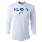 Russia Euro 2016 Core Long Sleeve Training Top (White)