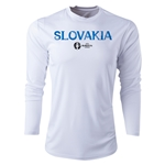 Slovakia Euro 2016 Core Long Sleeve Training Top (White)