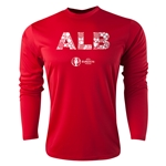 Albania Euro 2016 Elements Long Sleeve Training Top (Red)